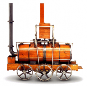 """""""Salamanca"""" The Salamanca locomotive, built in 1812 by Matthew Murray, was the first commercially successful steam locomotive. Source: Hapesoft; 2009"""