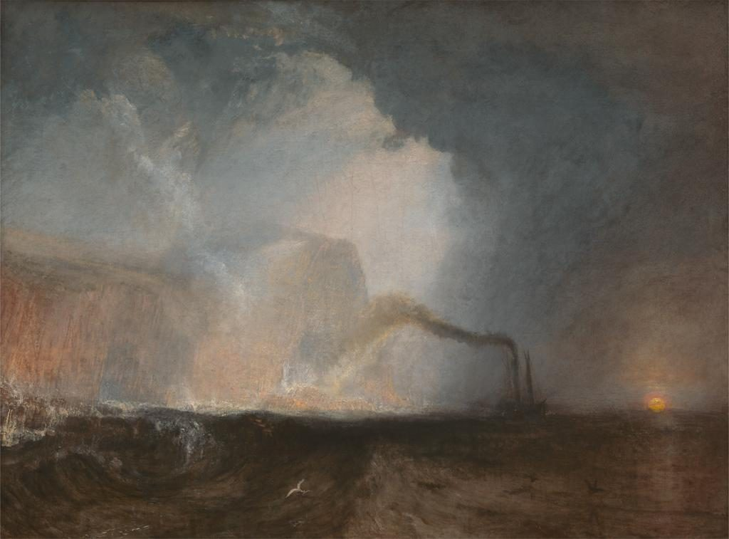 Staffa, Fingal's Cave. Joseph Mallord William Turner. 1831 to 1832