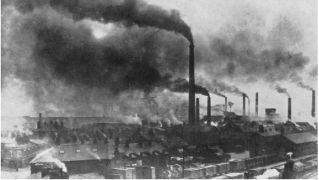 A history of rapid industrialization in late nineteenth century