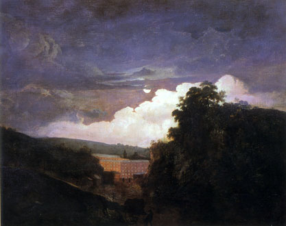 Arkwright's Cotton Mill. Joseph Wright, 1783. Private Collection.